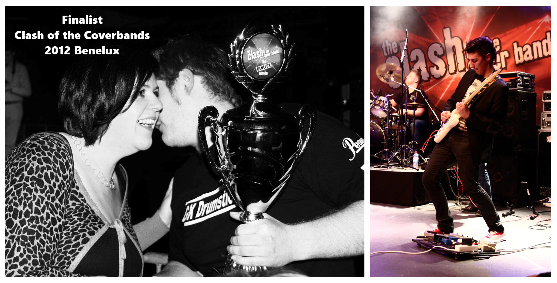 Finalist van Clash of the Coverbands 2012 Benelux