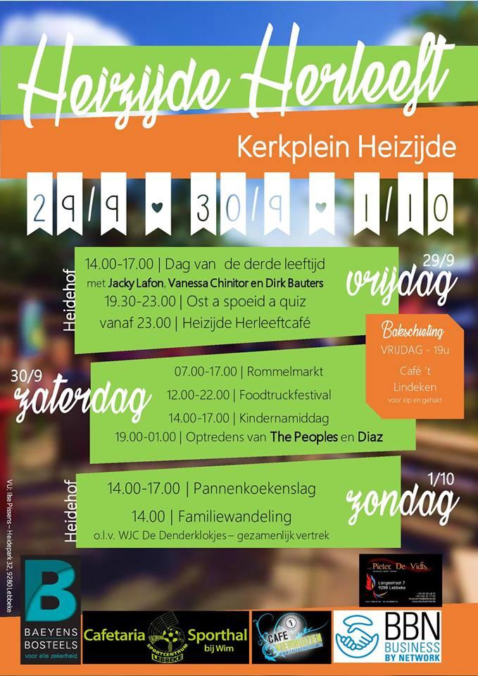 Affiche Heizijde Herleeft 2017