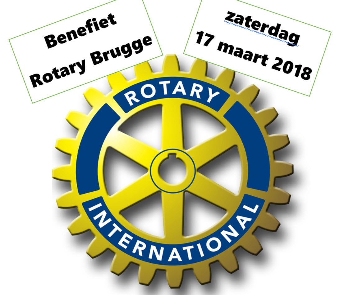 Benefiet Rotary Brugge 2018