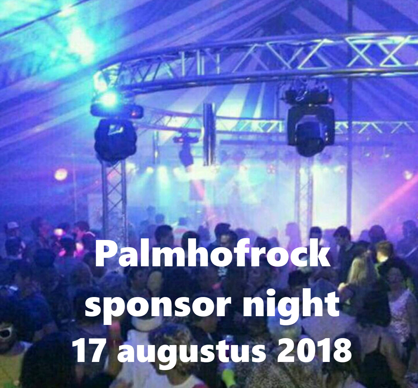 Palmhofrock sponsor night 2018
