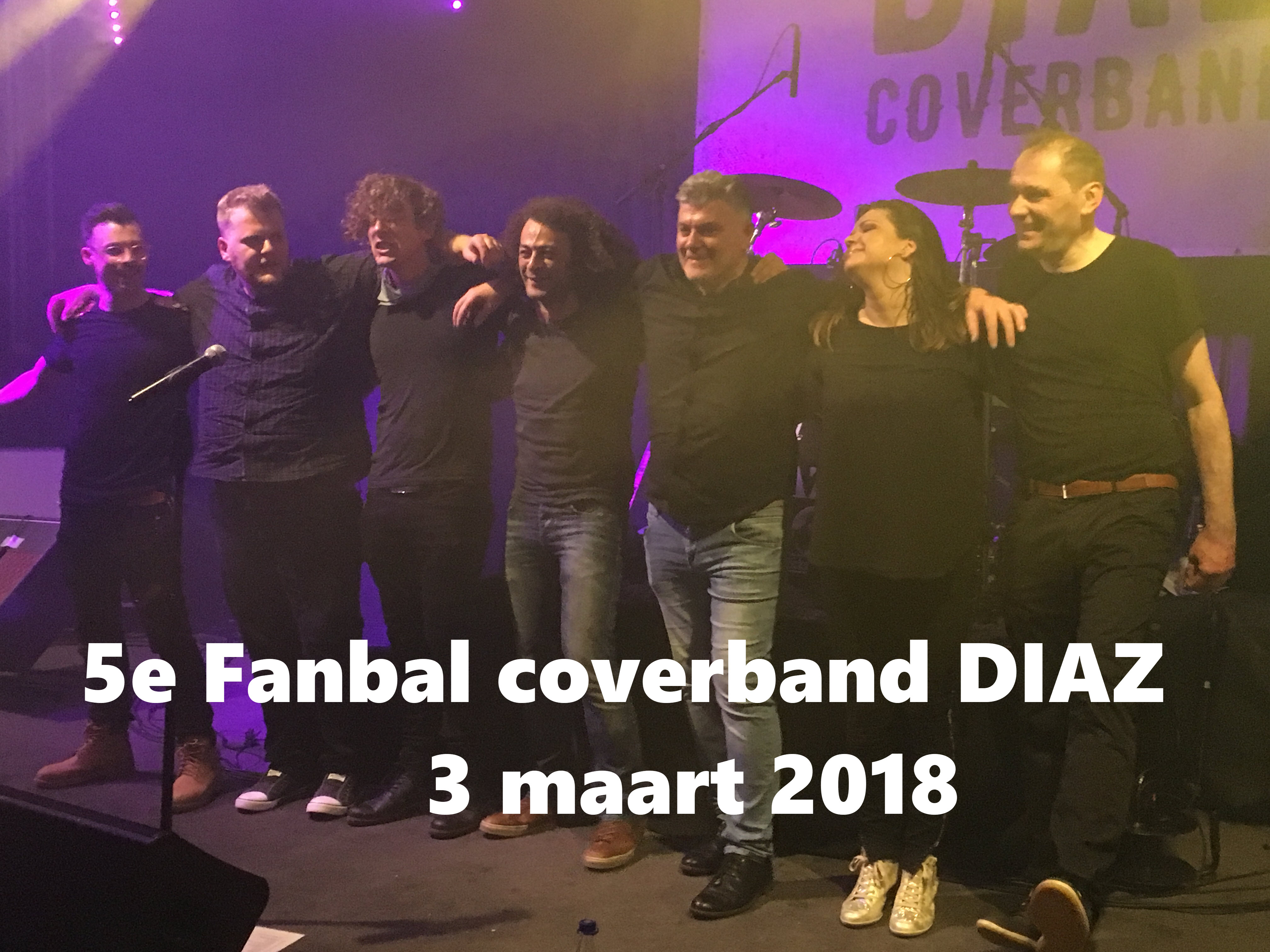 Coverband Diaz fanbal 2018_0