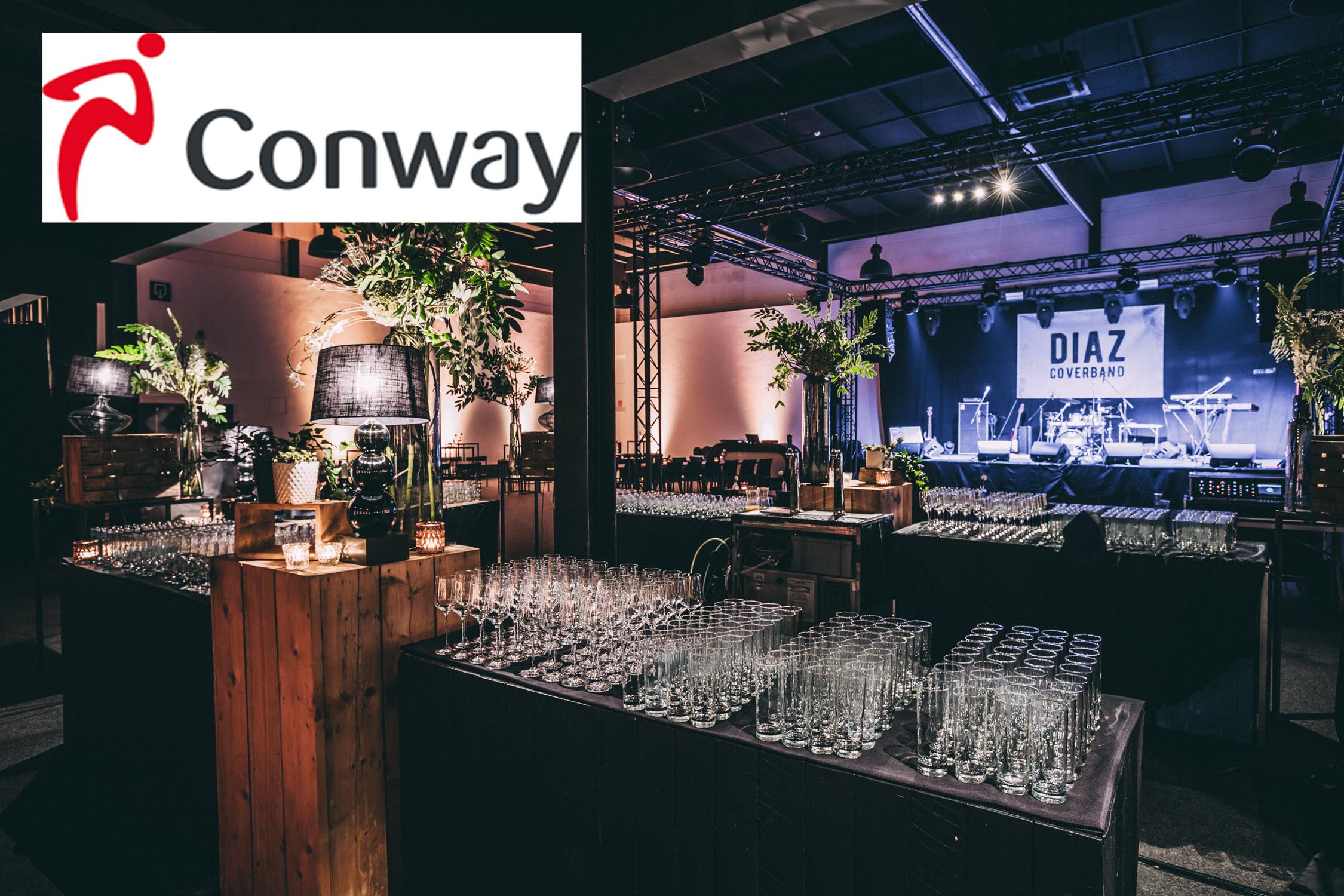 Bedrijfsfeest Conway 2018
