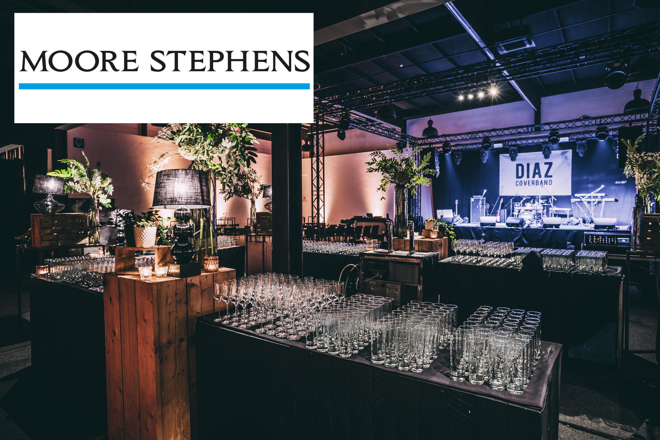 Bedrijfsfeest Moore Stephens Belgium 2018