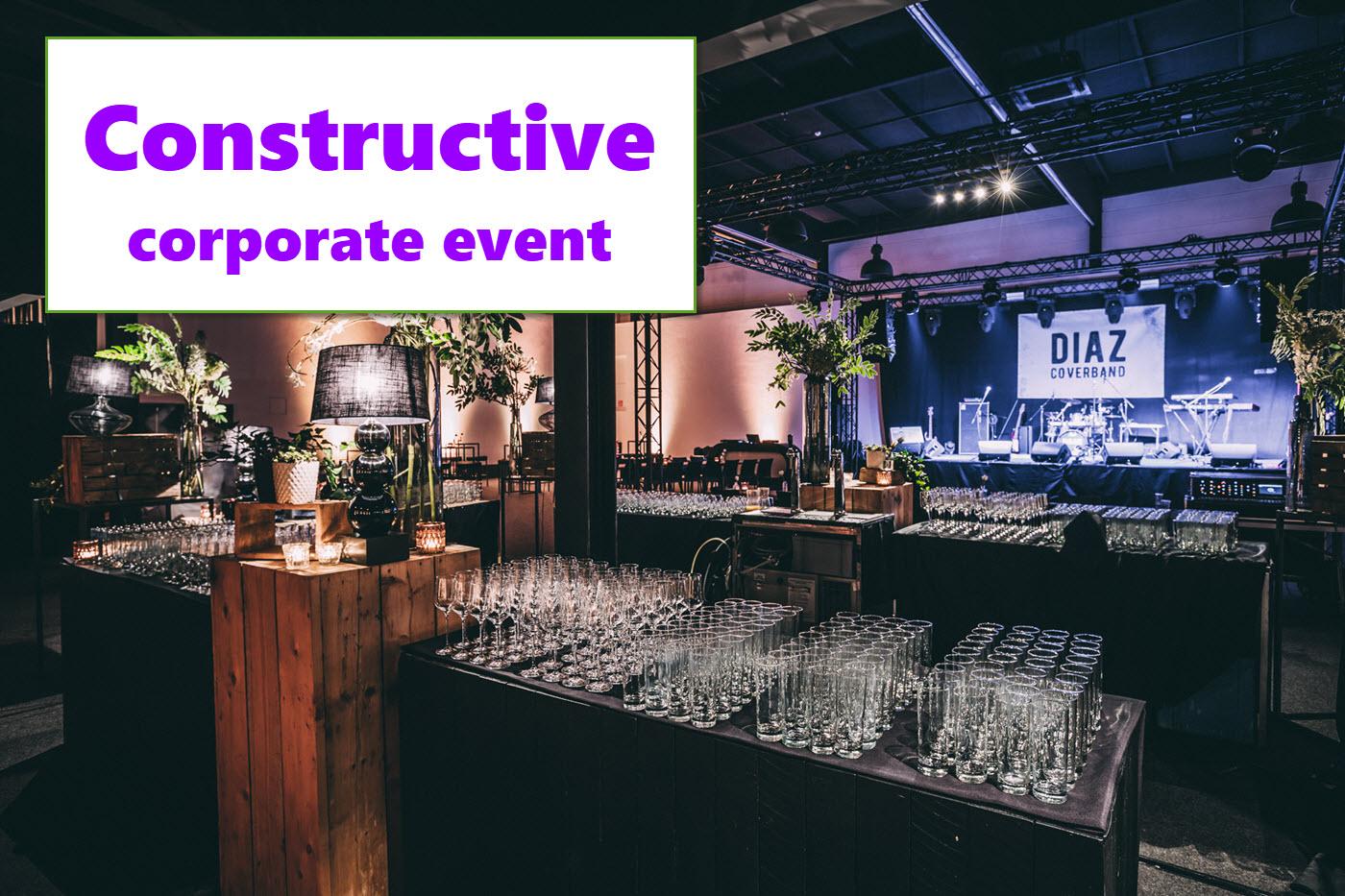 Corporate event Constructive